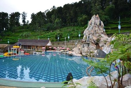 Hot springs to visit in Indonesia