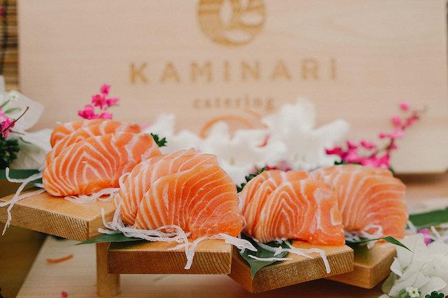 sushi catering bali island - kaminari resized