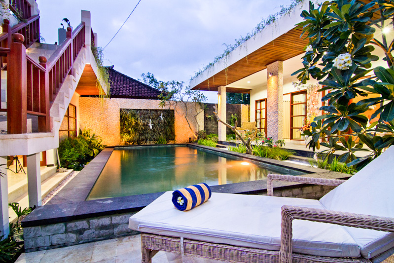 Jimbaran villas with a private pool to relax