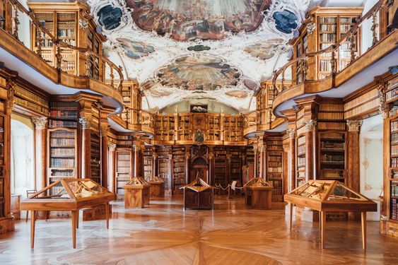 Travel To The Most Wonderful Libraries In The World