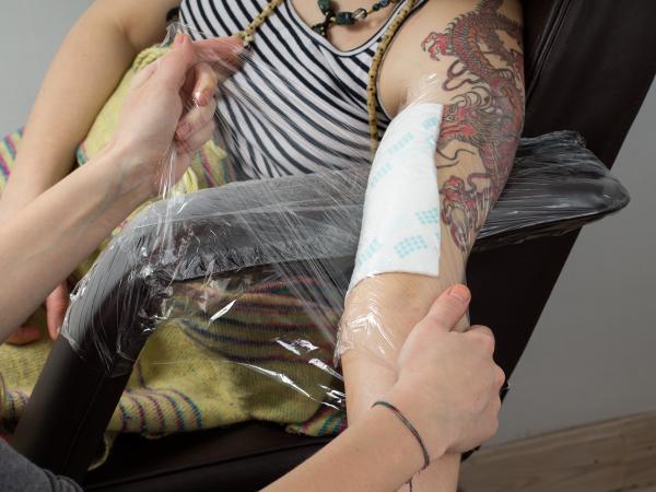 bali tattoo process