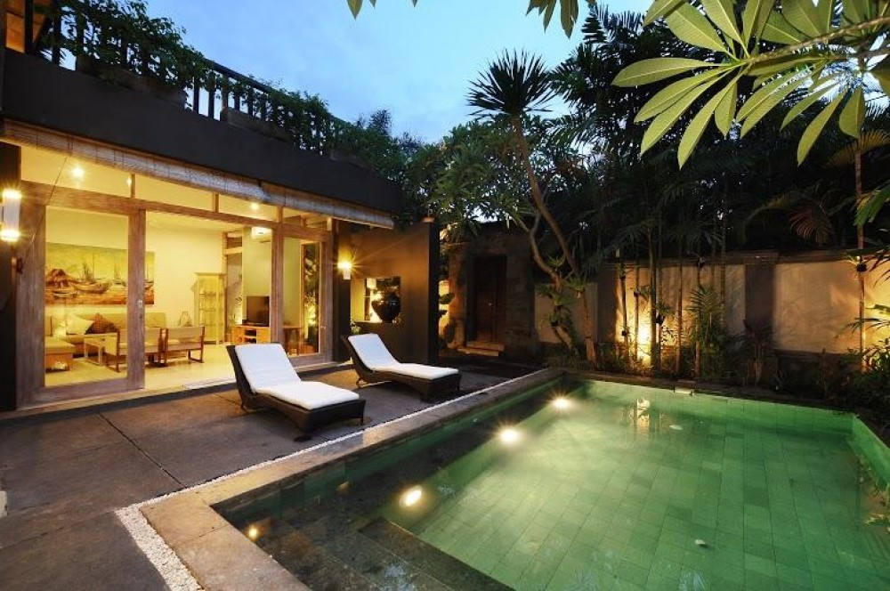 Luxury villas bali with a private pool