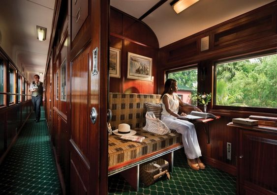 Pride of Africa by Rovos Rail