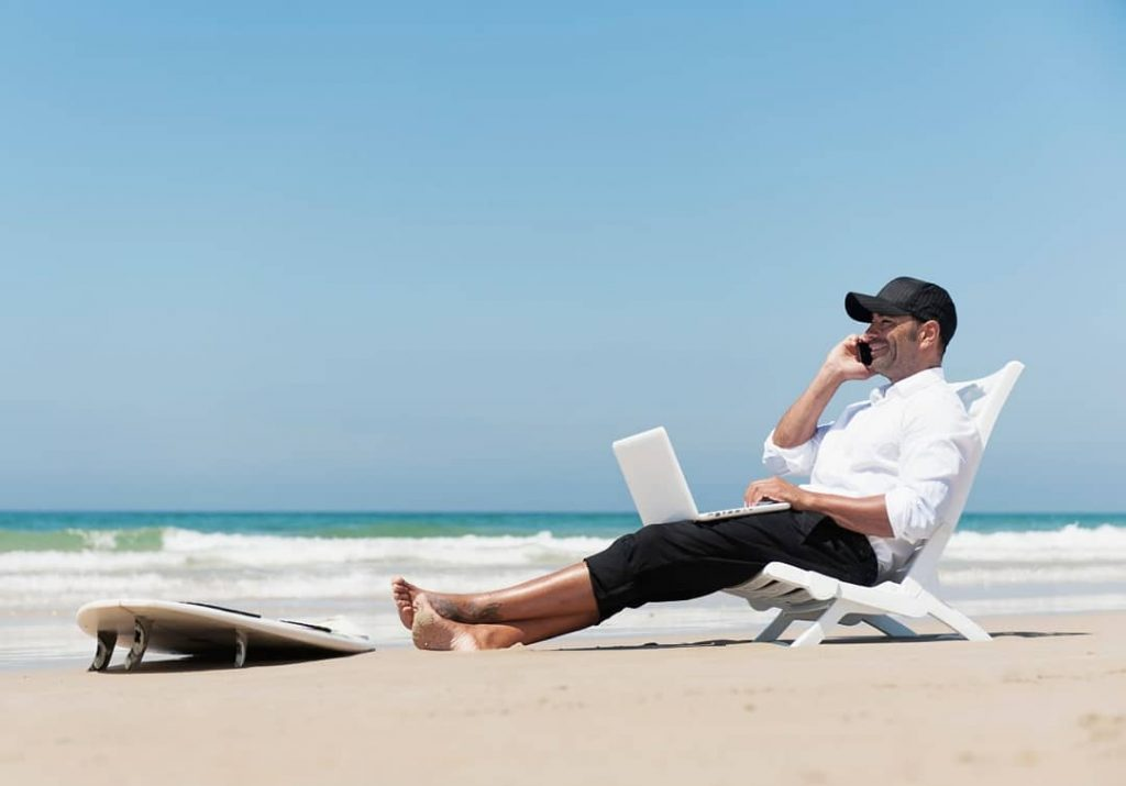 It's A Perfect Life for A Digital Nomad