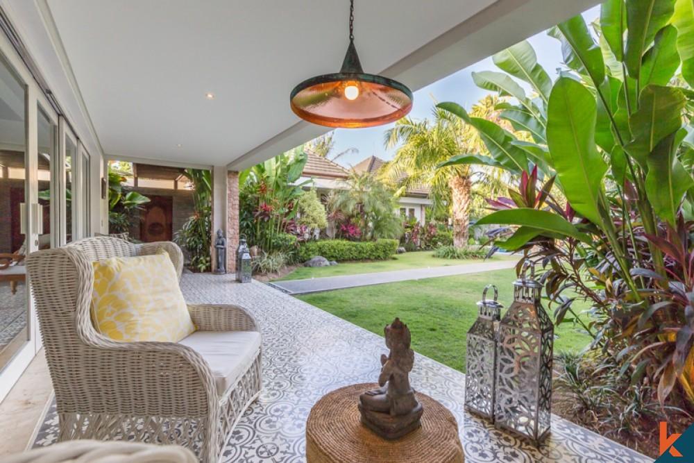 comfortable bali family villas