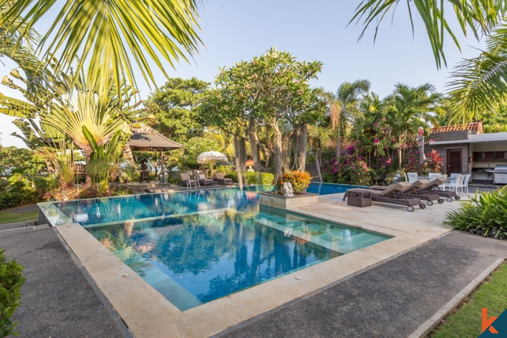 bali family villas with a friendly private pool for kids