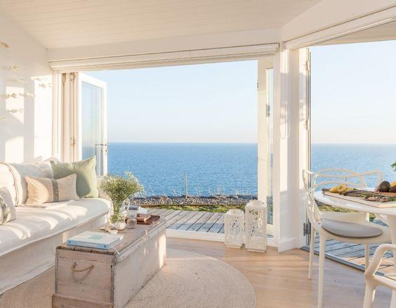 white decor seminyak villa
