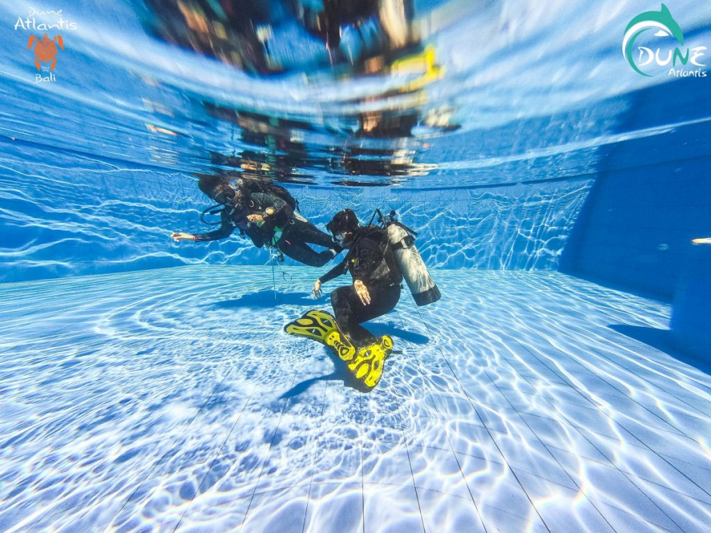 Taking Your First Breathe Underwater