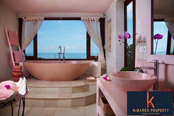 Bali holiday villas bathtub 6